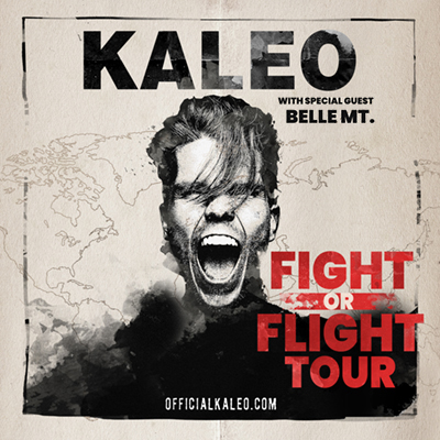 KALEO live in the McDonald Theatre on May 10, 2022