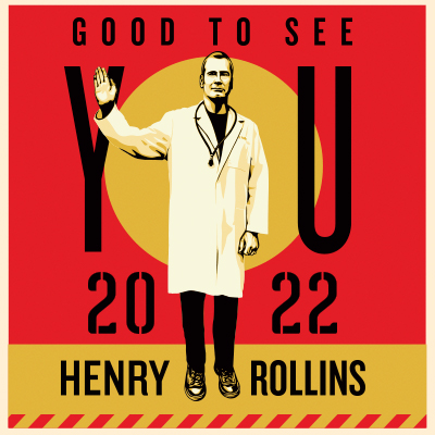 Henry Rollins live at the McDonald Theatre in Eugene, Oregon on May 14, 2022