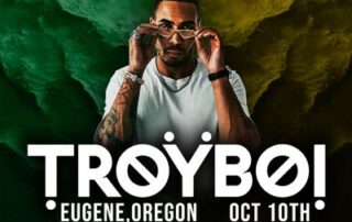TroyBoi live in concert at the McDonald Theatre in Eugene, Oregon on October 10, 2021