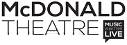 The McDonald Theatre Logo