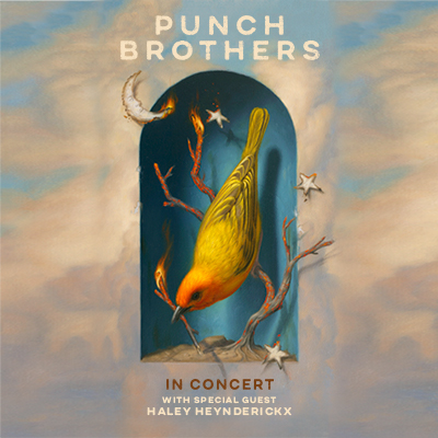 Punch Brothers live in concert at the McDonald Theatre in Eugene, Oregon on January 13, 2022